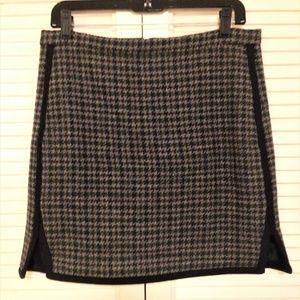 J.Crew 100% Wool Mini Skirt
